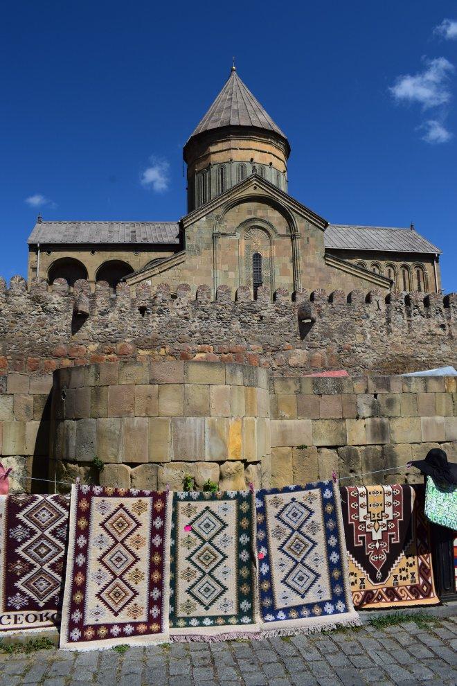 Georgia Mtskheta catedral Svetitskhoveli exterior