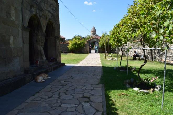 Georgia Mtskheta centro espiritual religioso igrejinha e catedral
