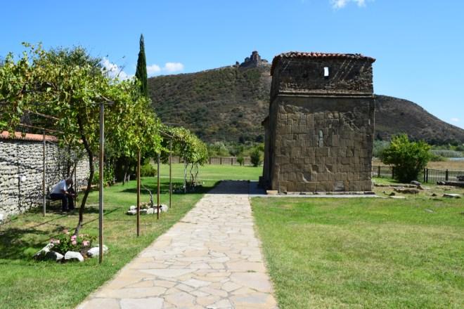 Georgia Mtskheta centro espiritual religioso igrejinha quadrada