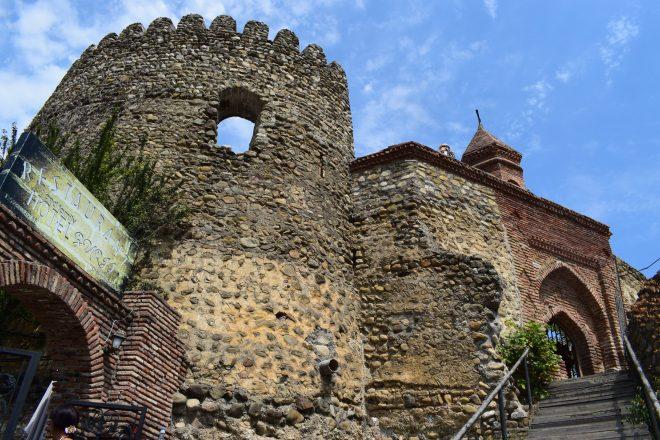 Georgia Sighnaghi igreja stepan muralhas 2