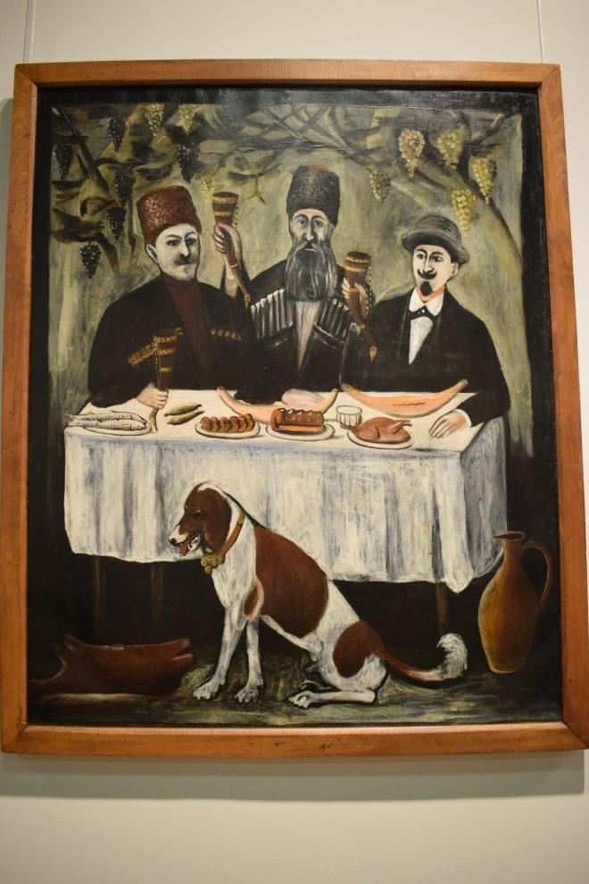 Georgia Sighnaghi museu pirosmani 2