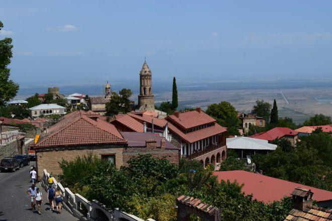 Georgia Sighnaghi vista centro historico 2