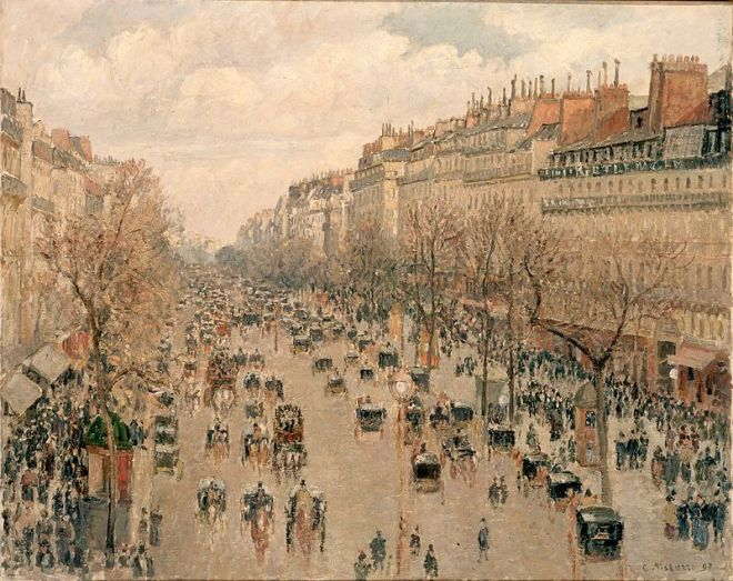 Hermitage estados gerais predio dos impressionistas pissarro boulevard montparnasse