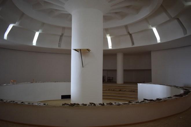 Tbilisi arquitetura sovietica ex museu de arqueologia interior