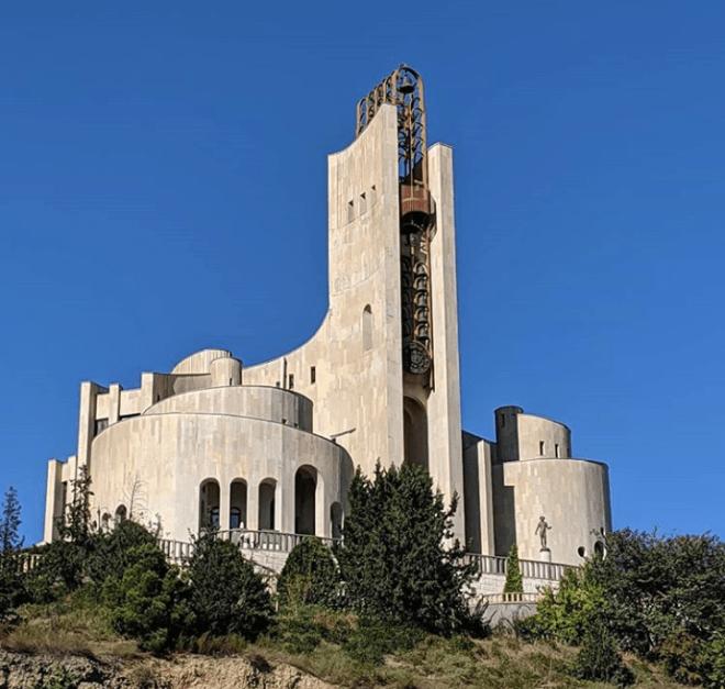Tbilisi arquitetura sovietica palácio rituais casamento