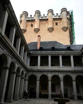 Alcazar de Segóvia Castelo Bela Adormecida 3