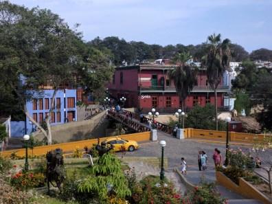 Lima Barranco ponte de los suspiros