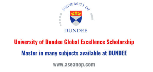 Three Fully Funded Postgraduate Scholarships At University Of Dundee In UK