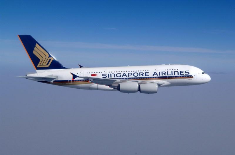 圖為新加坡航空空中巴士A380(Photo Creit: Roderick Eime @ Flickr CC BY 2.0)