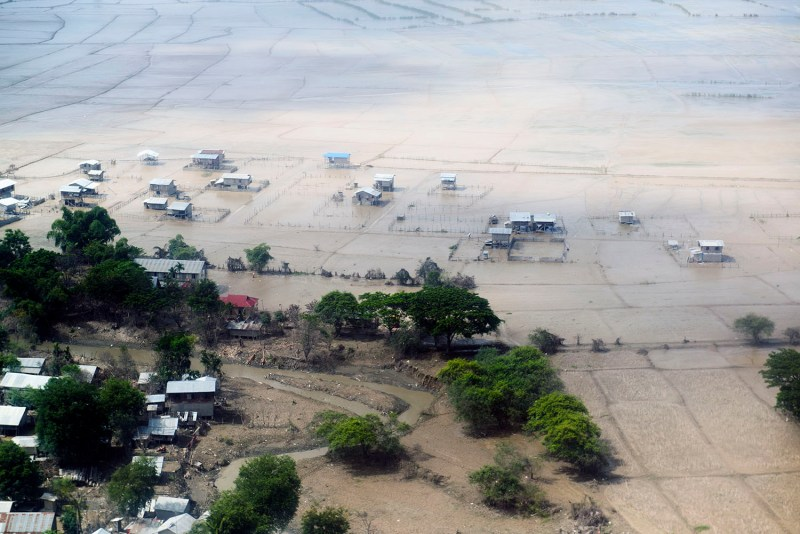 Myanmar 2015. Kalay flooding.