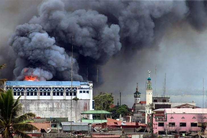Bombing of Marawi City