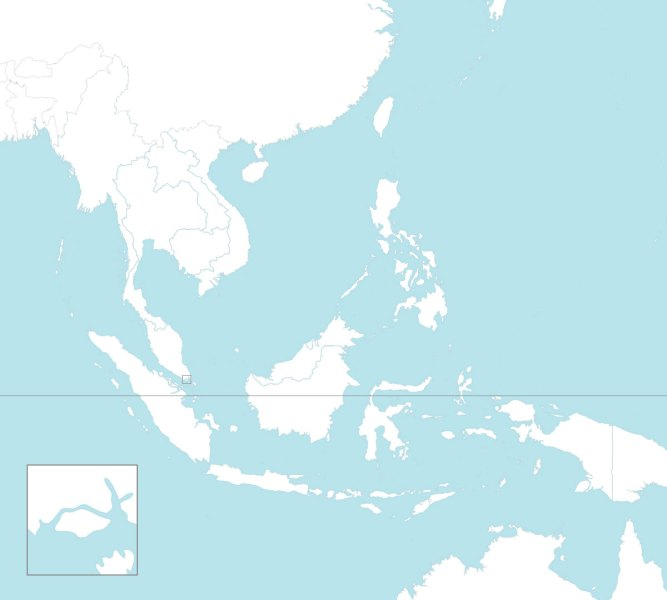 8 free maps of ASEAN and Southeast Asia   ASEAN UP Blank map of Southeast Asian with countries borders