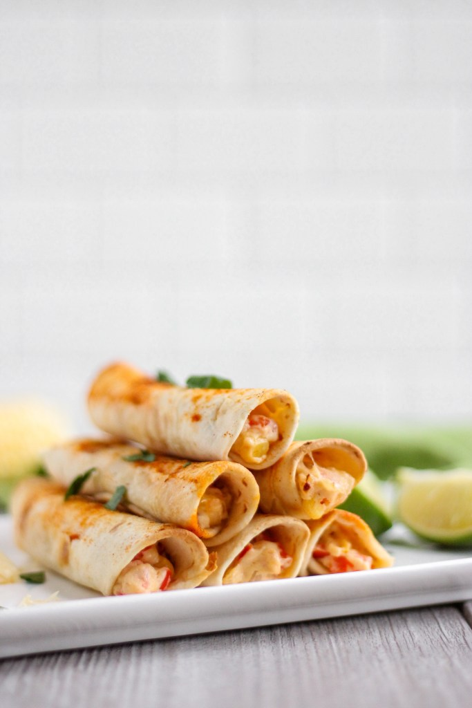 closeup image of taquitos