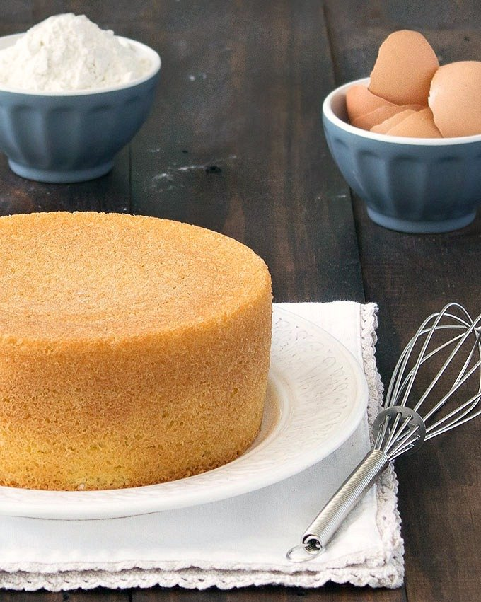 Simple Cake Butter Baking