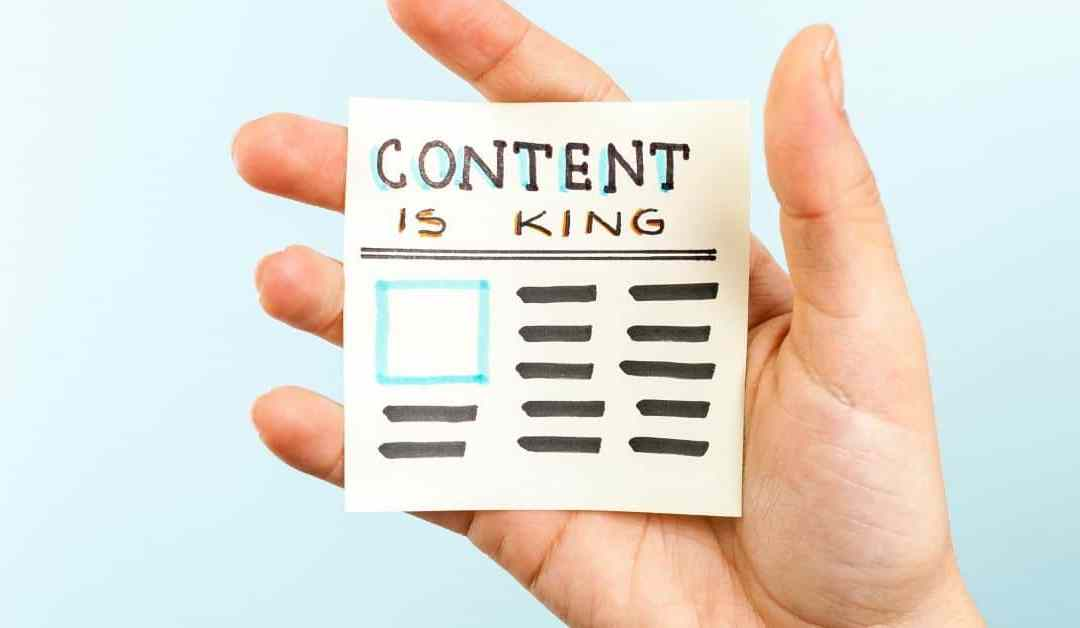 Content Marketing for Small Business is Critical