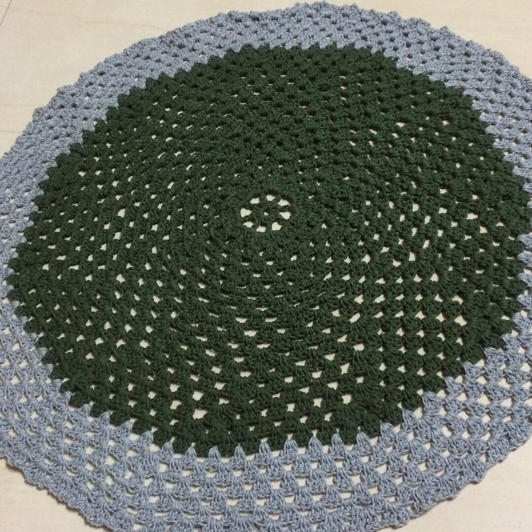 Crochet Doily Mat