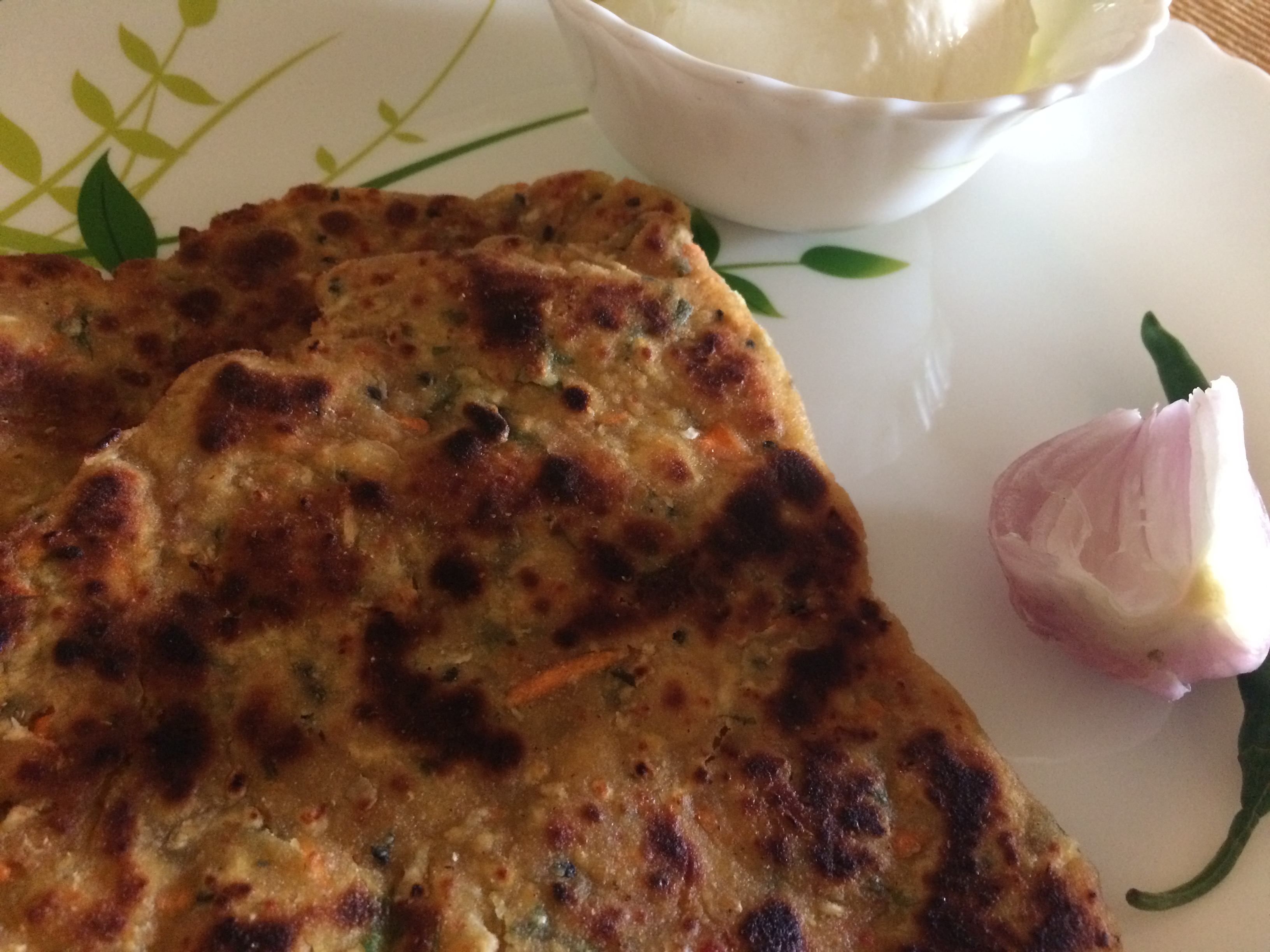 Roots Paratha - Mooli and Gajar