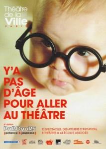 Y'a pas d'âge pour aller au théâtre