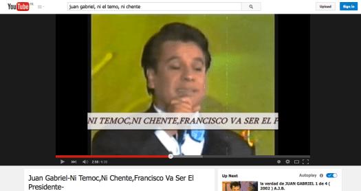 Spot de campaña electoral del año 2000 en México.