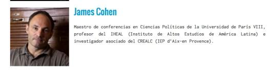 Uso justo del calendario de actividades del Instituto de Altos Estudios de la América Latina. Vía: www.viva-mexico-cinema.org/es/edition-2015/invites-2015/