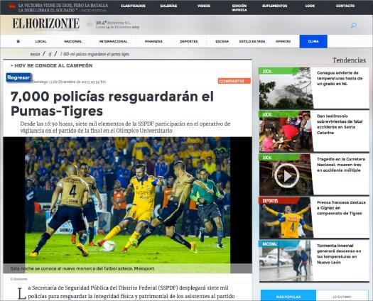 Tigres Campeón | 7K polícias