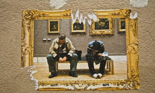 Arte por Bene… ¿notas? | Foto por armando segovia [MTV News nameless guy, Hell Yeah!!! Yuppi!!!].