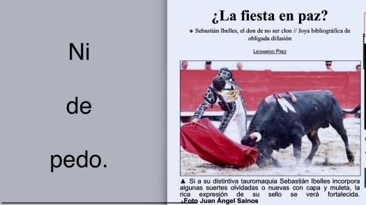 Cambio de tercio... again.