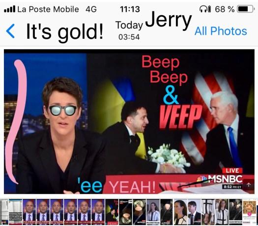 It's Au, Jerry! Au!
