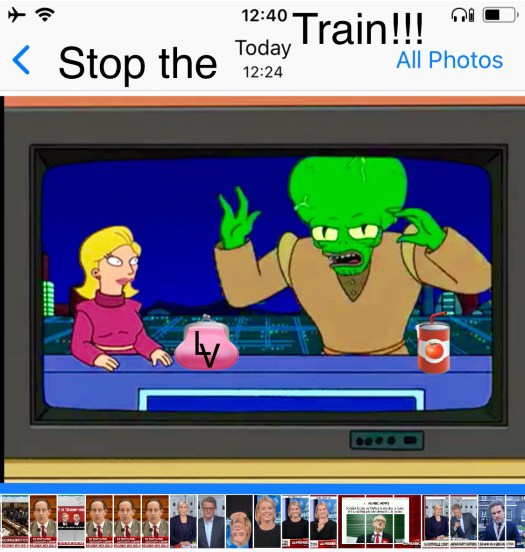 Stop the train!!!