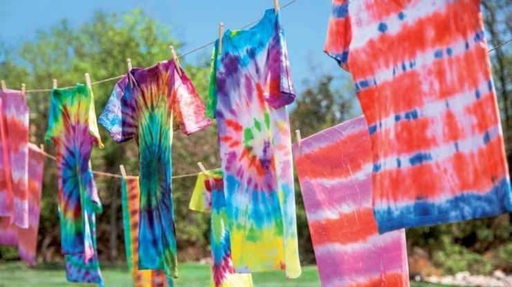Camisetas Tie-dye