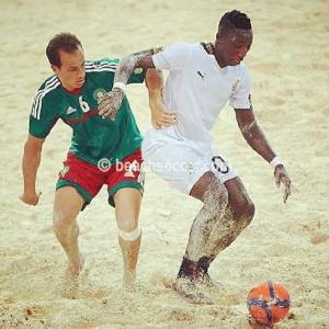 Ghana Black Sharks to face Uganda Sand Cranes in AFCON Beach Soccer showdow