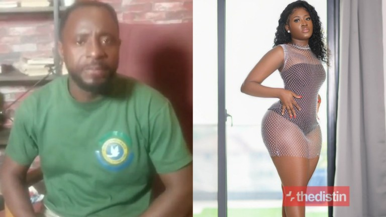 Video: I'm Not Happy With Your Photo, Delete It You Are A Married Woman – Apostle Kwame Boateng To Fella Makafui