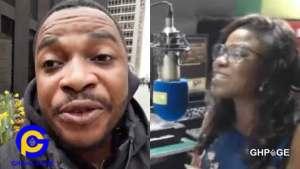 WATCH VIDEO : Wise up and talk sense-Twene Jonas fires Vim Lady for criticising him