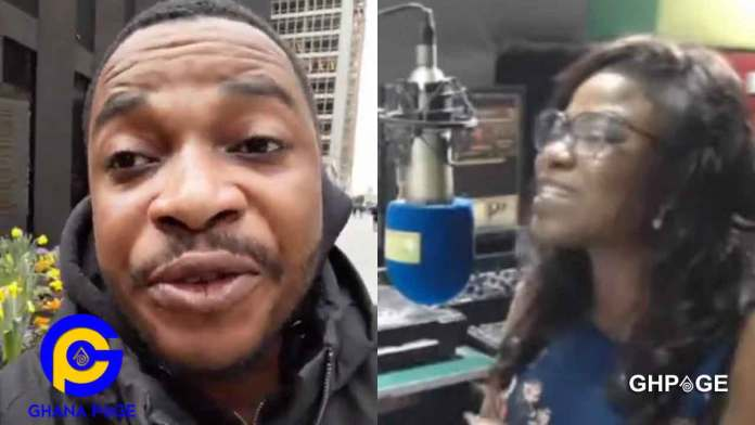 WATCH VIDEO : Wise up and talk sense-Twene Jonas fires Vim Lady for criticising him