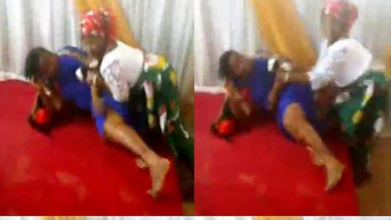 Video Of Pastor's Wife And A Female Church Member Fight Dirty In The church Drops Online