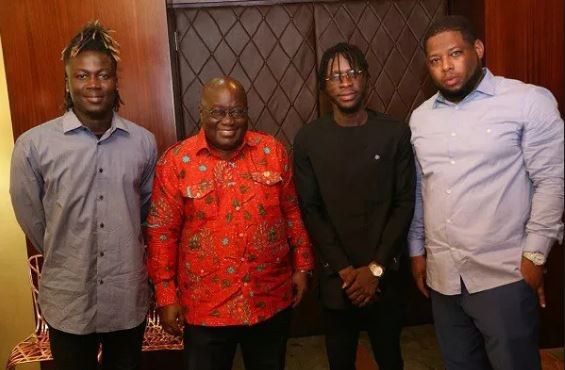 Nana Addo, D-Black, Wisa and DJ Brezee