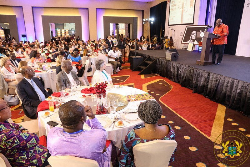 President-Akufo-Addo-speaking-at-the-event, Ghana Political News Report Articles