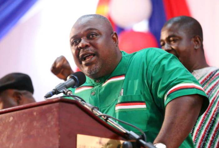 Koku Anyidoho in green shirt, Ghana Political News Report Articles