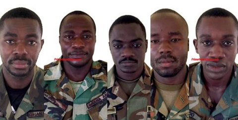 Soldiers involved in illegal operations