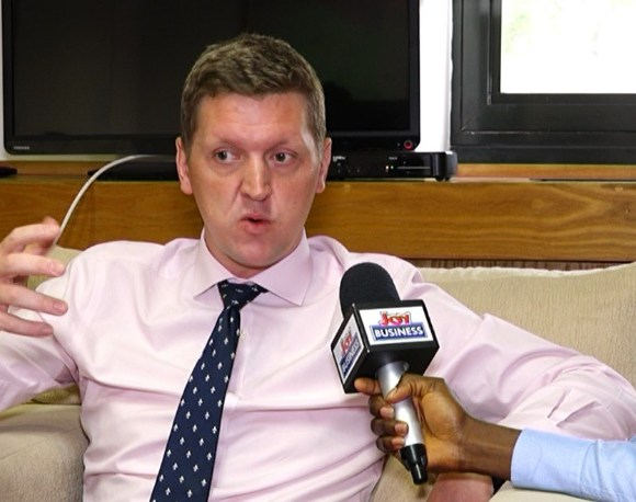 UK High Commissioner to Ghana Iain Walker