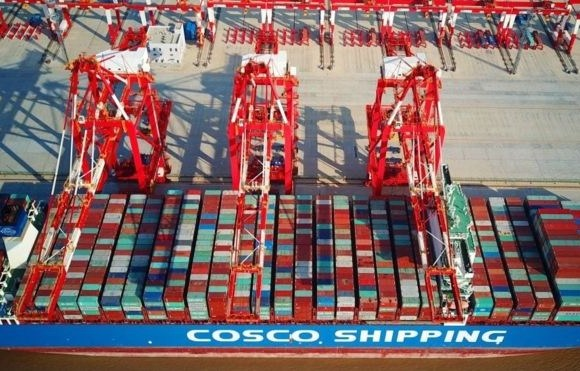 COSCO feared the trade war might hamper its operations