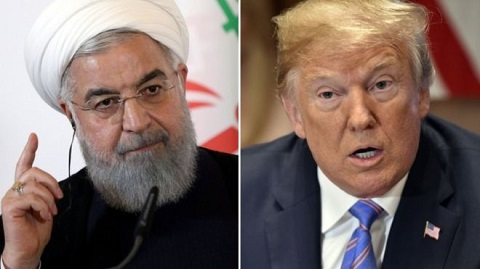 Donald Trump said he would meet Iran's Rouhani with no preconditions