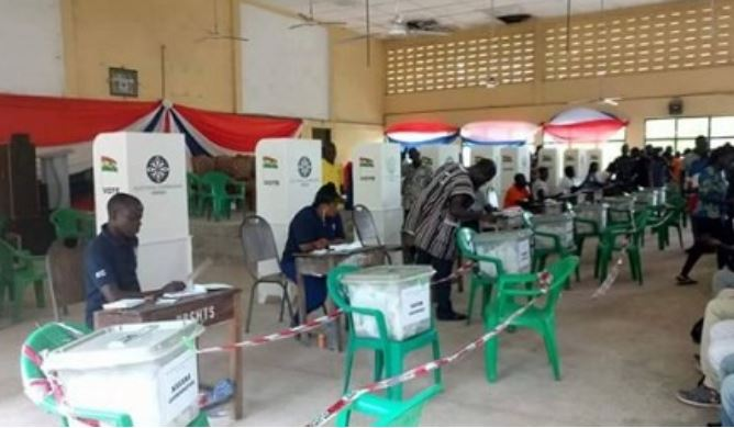 Electorates prepare to vote, Ghana Political News Report Articles