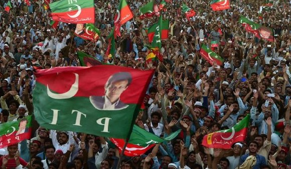 Many observers believe the military wants Imran Khan to win the election
