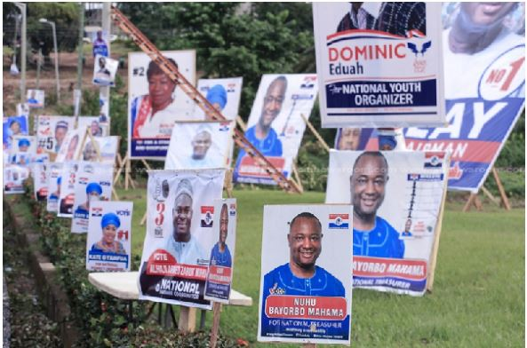 Posters, Ghana Political News Report Articles