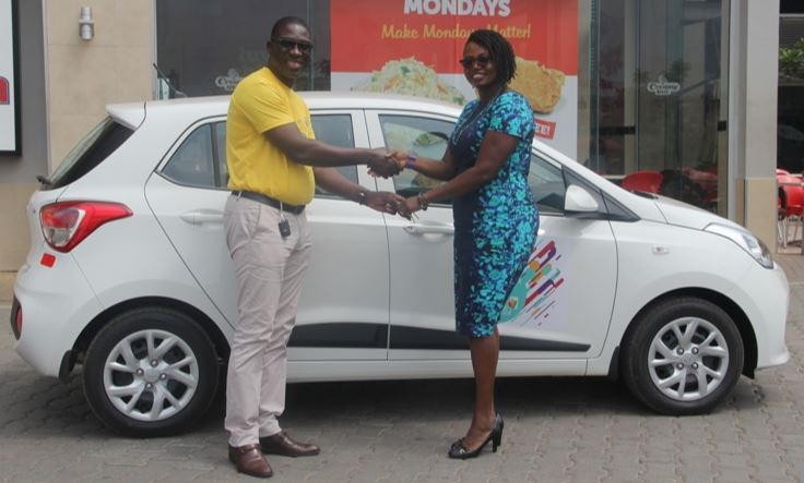 susan snatches 2nd car in west hills mall s shop and drive promo