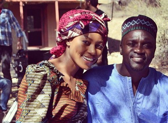 yvonne nelson and Akon