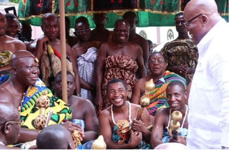 Otumfuo and Nana, Ghana Political News Report Articles