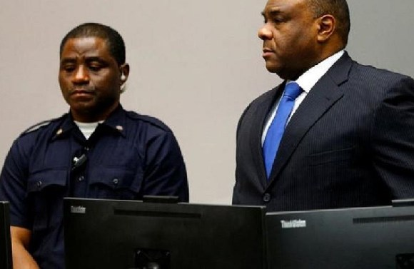 DR Congo's former vice president, has been sentenced to a 300,000 Euro fine and 12 month sentence