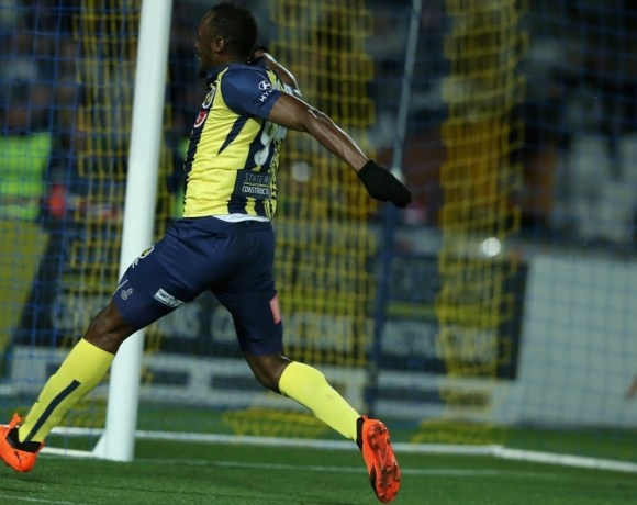 Highlights-Of-Usain-Bolts-Football-Debut-For-Central-Coast-Mariners